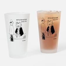 4256_beethoven_cartoon Drinking Glass