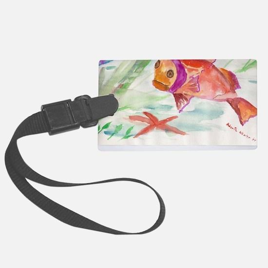 Fish Luggage Tag