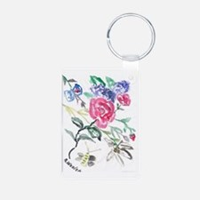 Flowers and Butterfly Keychains
