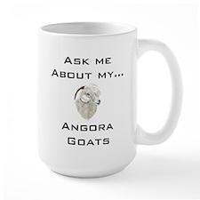 Goat Ask Angora Mug
