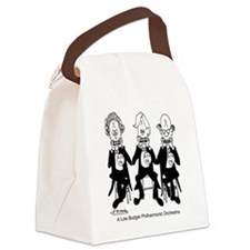 4227_orchestra_cartoon Canvas Lunch Bag