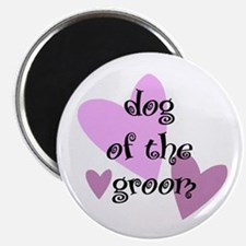 Dog of the Groom Magnet