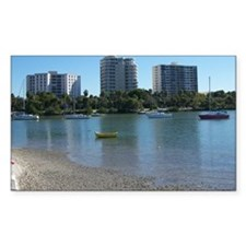 Boats in Sarasota Bay Decal