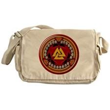 Red Rune Set Messenger Bag