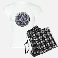 Feminine Silver Pentacle Pajamas