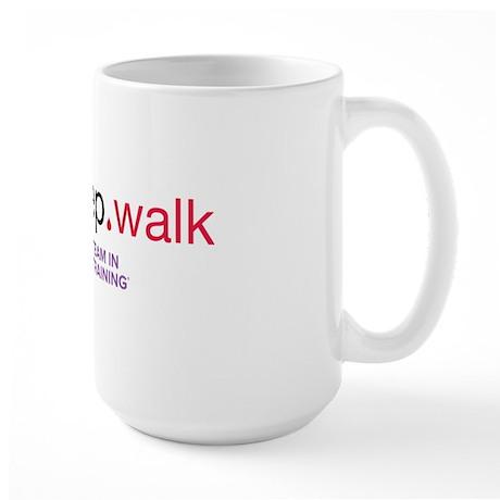 eat_walk Large Mug