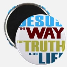 Jesus The Way The Truth & The Life Magnet