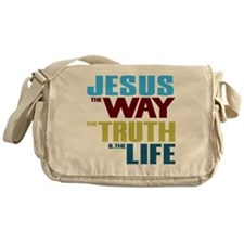 Jesus The Way The Truth & The Li Messenger Bag