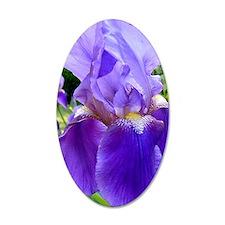 purple iris Wall Decal