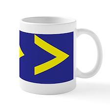Greater-Than-Sticker Mug