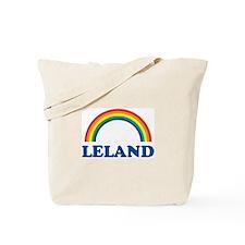 LELAND (rainbow) Tote Bag