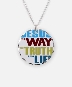 Jesus The Way The Truth &amp Necklace