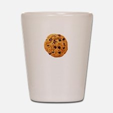 Cookie Inspector White Shot Glass