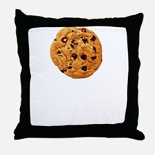 Cookie Inspector White Throw Pillow