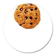 Cookie Inspector White Round Car Magnet
