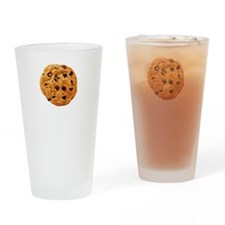 Cookie Inspector White Drinking Glass
