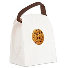Cookie Inspector White Canvas Lunch Bag
