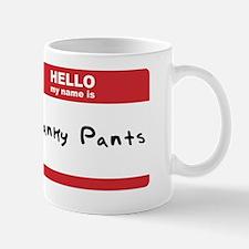 Hello My Name Is Cracnky Pants Small Small Mug