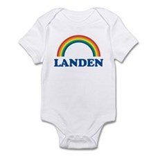 LANDEN (rainbow) Infant Bodysuit
