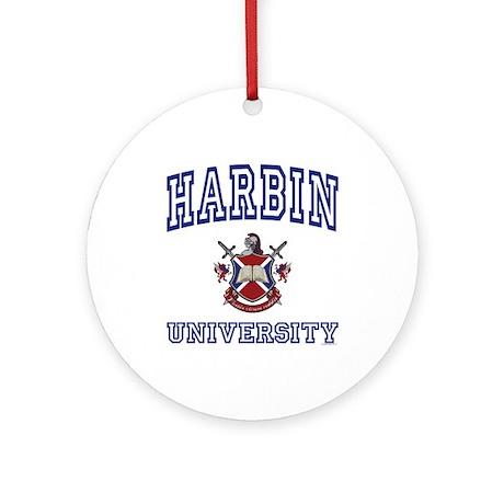 HARBIN University Ornament (Round)