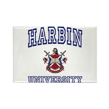 HARBIN University Rectangle Magnet (100 pack)