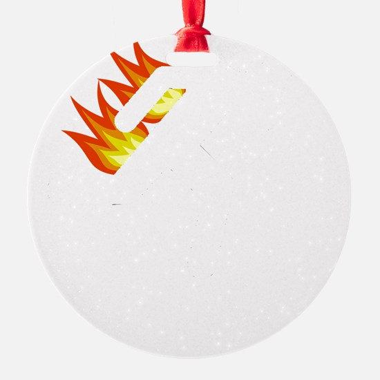 I Tried It At Home White Ornament