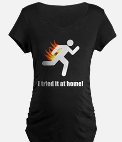 I Tried It At Home White T-Shirt