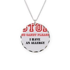Allergy Warning Necklace