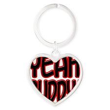 yeahbuddy2 Heart Keychain