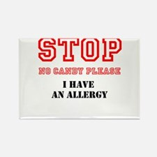Allergy Warning Magnets