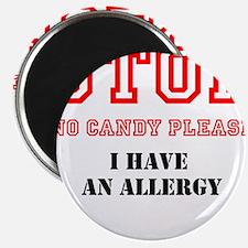 Allergy Warning Magnets