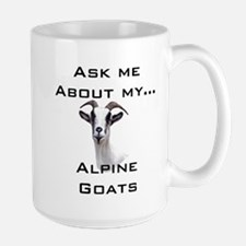 Goat Ask Alpine Large Mug