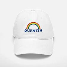 QUENTIN (rainbow) Baseball Baseball Cap