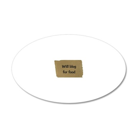 Unerggwegtitled 20x12 Oval Wall Decal