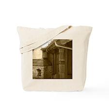 Frplce-Sepia-M Tote Bag