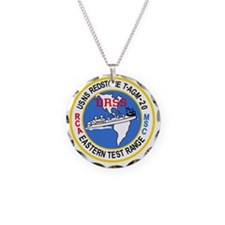 DRSS-20 USNS REDSTONE Vangua Necklace Circle Charm
