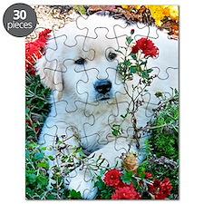 Golden Retriever Puppy Gift iPad Hard Case Puzzle