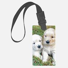 Golden Retriever Puppy Gift iPad Luggage Tag
