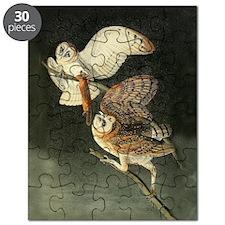 Audubon Barn Owls Puzzle
