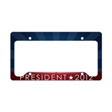 5x3oval_perry_no_border License Plate Holder