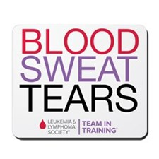 blood.sweat_purp Mousepad