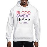 Blood sweat and tears swetahirt Hooded Sweatshirts