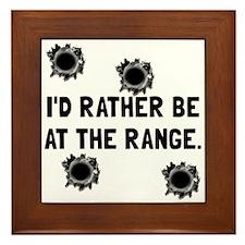 Gun Range Framed Tile