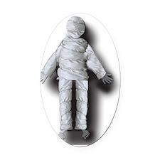 Mummy Oval Car Magnet