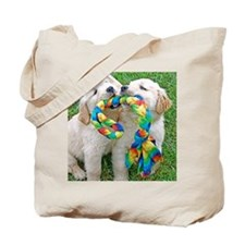Golden Retriever Puppy Gift iPad Hard Cas Tote Bag