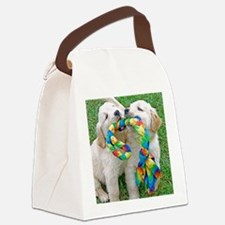 Golden Retriever Puppy Gift iPad  Canvas Lunch Bag