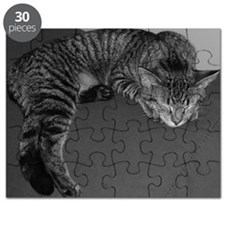 Napping Cat-BW-M Puzzle