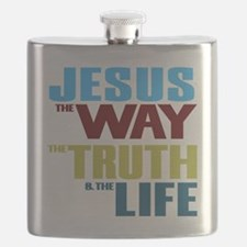 Jesus The Way The Truth & The Life Flask