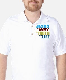 Jesus The Way The Truth & The Life T-Shirt