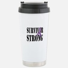 survivor strongpurple Travel Mug
